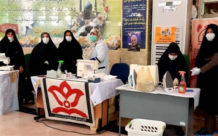 کانون های فرهنگی تربیتی با تولید ماسک به جنگ کرونا ویروس رفتند