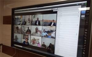 جلسه هماندیشی ویدئو کنفرانس بررسی چالشهای راه اندازی و استقرار شبکه اجتماعی دانش آموزی شاد