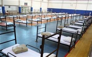 راهاندازی دوباره نقاهتگاه ۱۰۰ تخت خوابی بیماران مبتلا به کروناویروس در شیراز