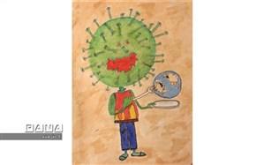 """شرکت دانش آموزان منطقه1 در پویش """"هر دانش آموز یک سفیر سلامت"""""""