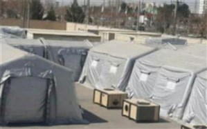 برپایی نقاهتگاه بیماران کرونایی در محل ستاد مدیریت بحران شهرداری اسلامشهر