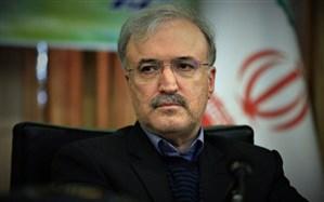 قدردانی وزیر بهداشت از مجموعه دانشگاه علوم پزشکی مازندران