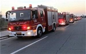 افزایش خودروهای ضدعفونی کننده آتشنشانی در روزهای آینده