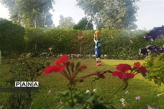 سیزده بدر دانش آموزان شهرستان امیدیه در خانه هایشان