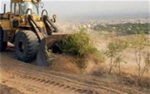 رفع تصرف دو هزار و 500 متر مربع از اراضی ملی شهرستان کازرون