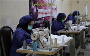 دوخت ۸۰ هزار ماسک و ۱۰ هزار لباس ویژه بیمارستانی توسط هنرمندان صنایع دستی آذربایجان شرقی