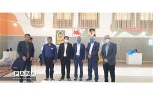 راه اندازی کارگاه تولید ماسک توسط آموزش و پرورش  شهرستان امیدیه