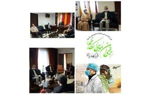 توزیع اقلام بهداشتی در 46 منطقه شهرستان سمنان