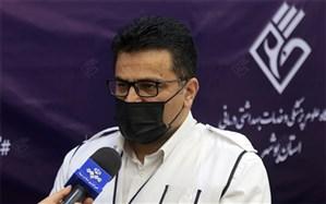 ثابت ماندن لیست مبتلایان به ویروس کرونا در بوشهر