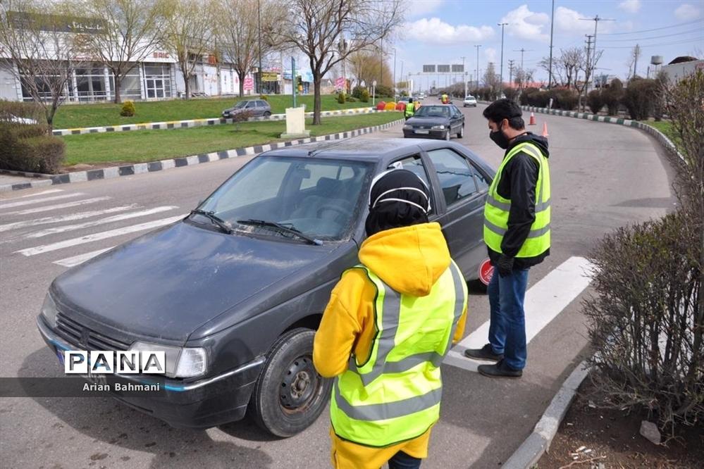 کنترل عبور و مرور ورودیهای شهرزنجان