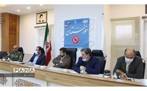 تاکید استاندار خوزستان برارزیابی و بازنگری اقدامات انجامشده در خصوص شیوع کرونا