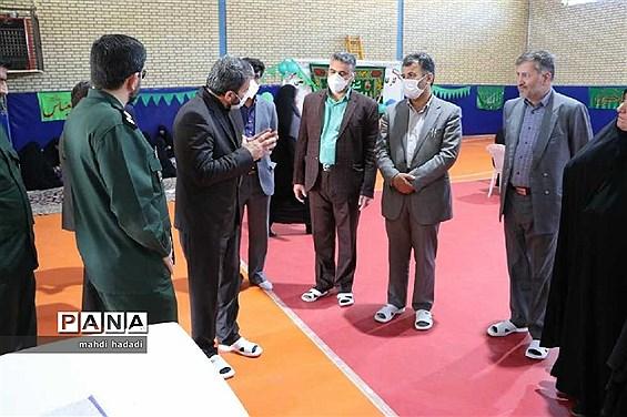 بازدید مدیرکل آموزش و پرورش قزوین از پروژه های عمرانی آموزش و پرورش ناحیه یک