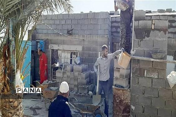 فعالیت مردمی گروه جهادی جهادگران انقلابی شهرستان امیدیه