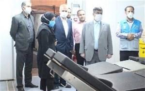 بازدید فرماندار اسلامشهر از نقاهتگاه بیماران کرونایی شهدای سلامت
