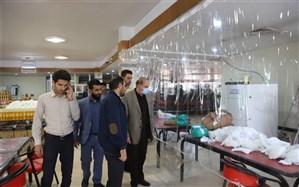 بازدید مدیرکل اجتماعی استانداری فارس از فعالیت گروههای مردمی در دانشگاه صنعتی شیراز