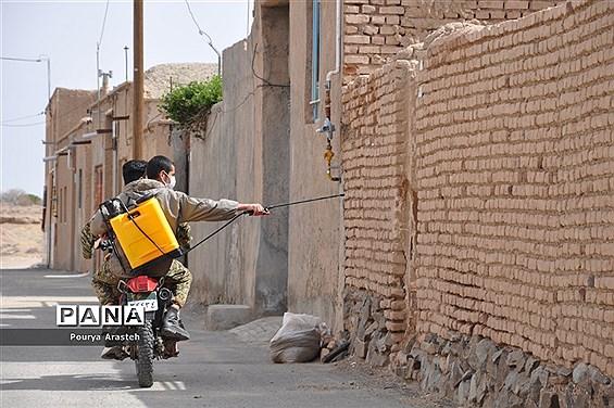 رزمایش بیولوژیک درشهرستان خوسف استان خراسان جنوبی