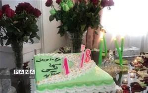 برگزاری جشن میلاد امام زمان در فضای مجازی منطقه 1