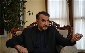 امیرعبداللهیان: برقراریآتشبس برای بازسازینیروهای سعودی، راهحل بحران یمن نیست