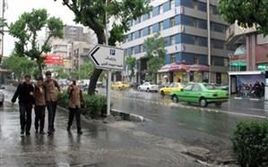 رکورد بارش باران در استان تهران شکسته شد