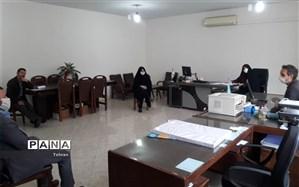 جلسه تولید محتوای الکترونیکی حوزه معاونت پرورشی منطقه 8 برگزار شد