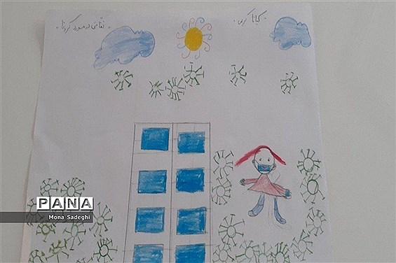 فعالیتهای دانشآموزان، پیشتازان ومربیان شهرستان راز و جرگلان در ایام قرنطینه