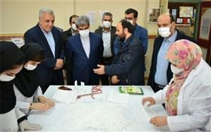 حضور فعال فرهنگیان البرزی در دو جبهه آموزش و بهداشت