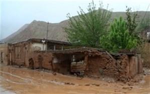 خسارت بارشهای بهاری به دو اثر تاریخی استان یزد