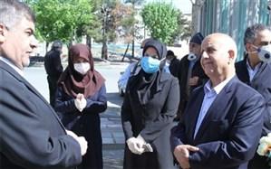 قدردانی فرماندار اسلامشهر از کارکنان مراکز درمانی تشخیص کروناویروس اسلامشهر
