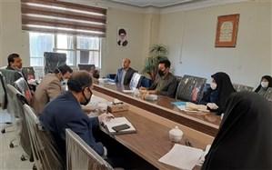 برگزاری جلسه فرآیندساماندهی نیروی انسانی آموزش و پرورش منطقه رودهن