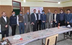 تولید روزانه 4000 ماسک به همت گروه جهادی کانون بسیج فرهنگیان شهریار
