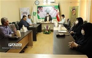 نخستین نشست شورای اداری سازمان دانش آموزی استان  در سال جدید