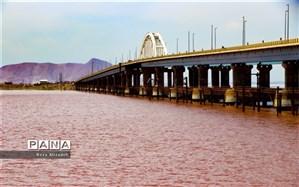 وسعت دریاچه ارومیه ۳۰ کیلومترمربع کاهش یافت