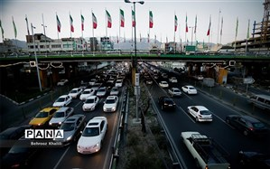 ترافیک روان در بزرگراههای تهران