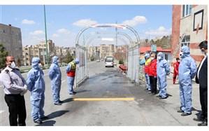 ابداع  سامانه تونل  ضدعفونی با ازن در تبریز
