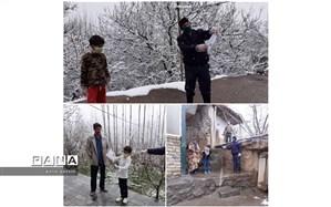 چراغ آموزش در دورترین روستاهای قزوین روشن است