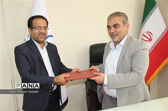 جلسه معارفه رئیس  اداره  مشاوره تربیتی و تحصیلی آموزش و پرورش استان بوشهر