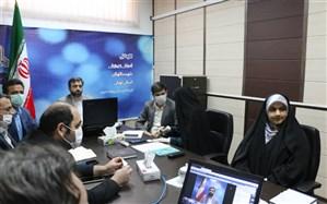 برگزاری وبینار توجیهی فرایند ارزیابی شاخص های عمومی و اختصاصی سال98 حوزه معاونت پرورشی فرهنگی