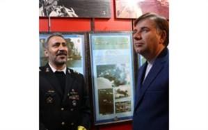 حضور استاندار گیلان در منطقه چهارم نیروی دریایی ارتش