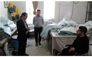 حضور رییس سازمان دانش آموزی استان همدان در موسسه نیکوکاری توان یاران صبح الوند