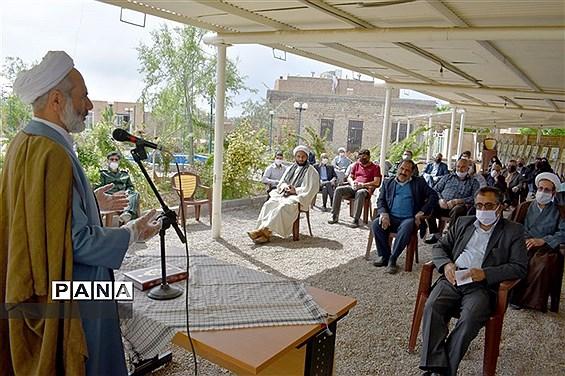 نشست مجمع خیرین جهادگر بسیجی بهاباد