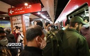 روز گذشته ۴۳۱ هزار نفر از مترو استفاده کردند