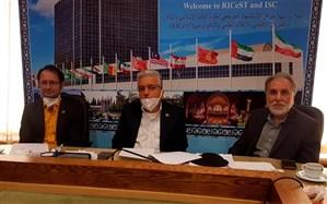 برگزاری جلسه ویدئو کنفرانس پایگاه استنادی علوم جهان اسلام در شیراز و کشورهای عضو D8