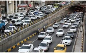 آخرین وضع ترافیک صبحگاهی معابر بزرگراهی تهران