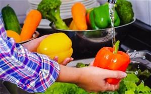 نحوه صحیح شستوشوی میوه و سبزی در روزهای کرونایی