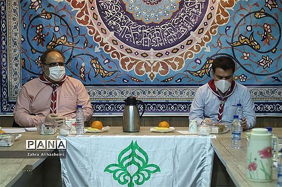 نشست هم اندیشی گروه تولید محتوای سازمان دانش آموزی شهر تهران