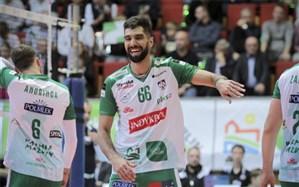 والیبالیست ایرانی پدیده لیگ والیبال لهستان شد