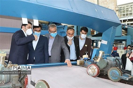 بازدید معاون هماهنگی امور اقتصادی استانداری تهران از شهرک صنعتی قرچک