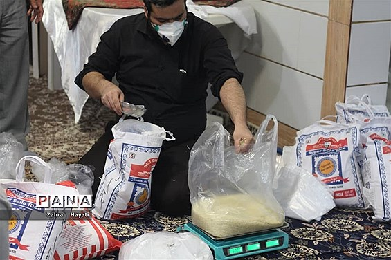 اجرای طرح کمک رمضانیه به روستاهای اطراف شهرستان امیدیه
