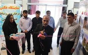 نمایشگاه عکس دانشآموزان شهرستان دشتی گشایش یافت