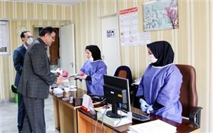 قدردانی مدیر آموزش و پرورش ناحیه یک از خدمات درمانگاه فرهنگیان همدان
